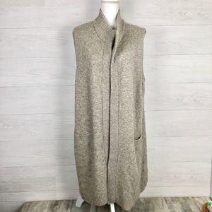 Lauren Ralph Lauren Plus Size Cashmere Blend Vest